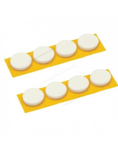 CD-спайдеры поролоновые белые