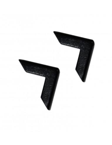 Уголки для папок чёрные 16 мм