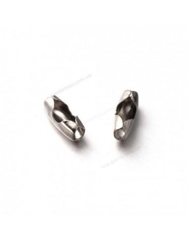 Скоросшиватели (усики) металлические с пружинками